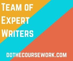 Team of Expert Writers
